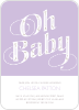 Oh Baby Pattern - Front View