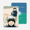 Burst of the Holidays Cards - Green