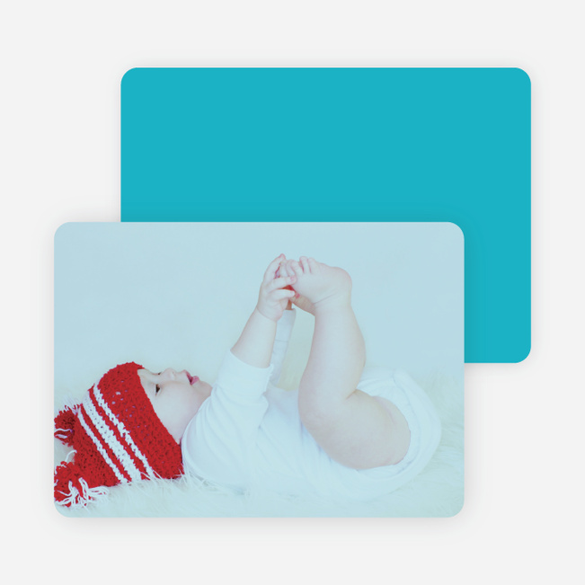 Holiday Cards: Peace, Love & Joy - Blue