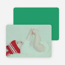 Holiday Cards: Peace, Love & Joy - Green
