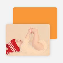 Holiday Cards: Peace, Love & Joy - Orange