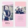 Holiday Shapes Joy Cards - Pink