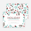 Holiday Soiree Party Invitations - Blue