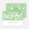 Oh Baby Shower Things - Green