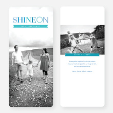 Shine On Holiday Cards - Blue