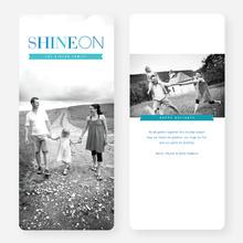Shine On Holiday Cards - Blue