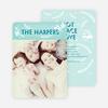 Snowbird Holiday Cards - Blue