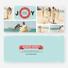 Wreath of Joy Holiday Cards - Green
