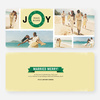 Wreath of Joy Holiday Cards - Yellow