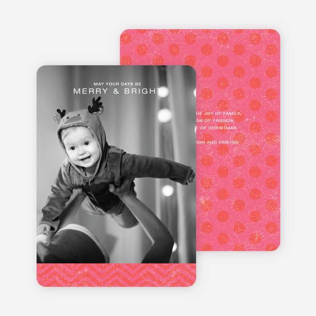 Charming Holiday Cards - Red