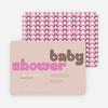 Superstar Girl Baby Shower Invitations - Beige