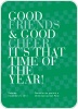 Good Friends & Good Cheer - Front View