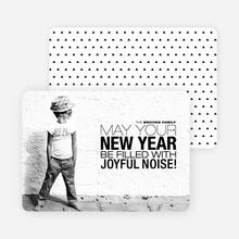 Joyful Noise Christmas Cards - Black