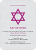 Star of David - Front View