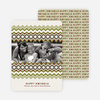 Cherished Memories Kwanzaa Holiday Photo Cards - Bamboo