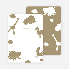 Note Cards: 'Animal Downpour' cards. - Mushroom