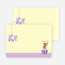 Notecards for the 'Nursery Animals Gone Wild' cards. - Wisteria