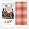 Patterns of Joy Large Holiday Cards - Orange