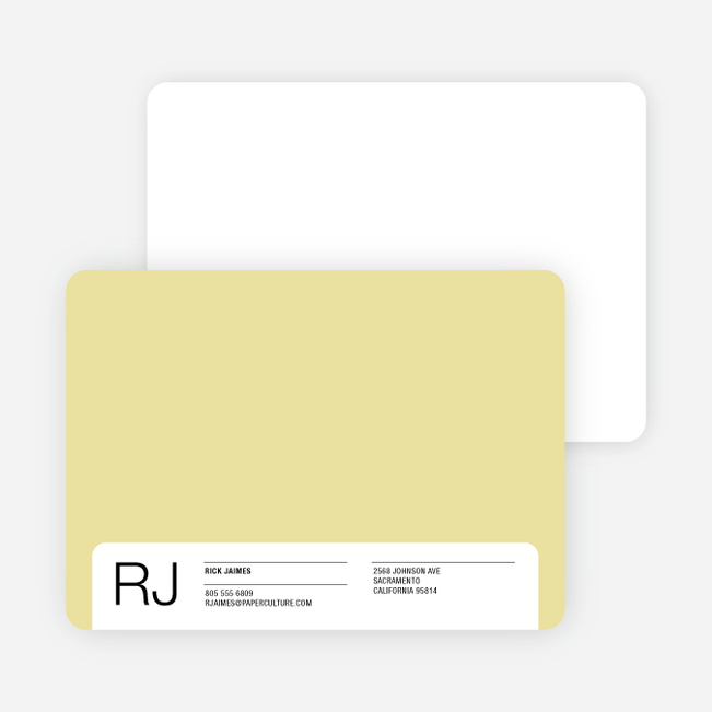 Stationery for the Man Who Has Everything - Honey Blonde