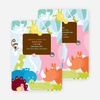 Where the Wild Things Live Birthday Invitation - Chocolate Brown