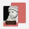 Wood Carving Holiday Cards - Red