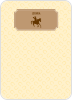 Ride 'Em Cowboy: Personal Stationery - Front View