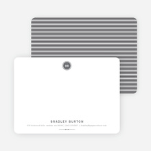 Modern Stationery: Simply Put on 100% Recycled Paper - Charcoal