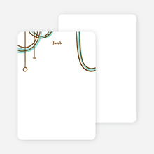 Notecards for the 'Birthday Celebration' cards. - Aquamarine
