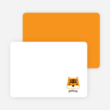 Notecards for the 'Tony the Tiger Announcements' cards. - Tangerine