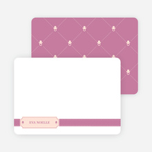 Stationery: 'Sealed with a Binky' cards. - Amethyst