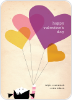 Vintage Heart Balloons - Front View