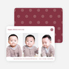 3 Photo Chinese New Year Cards - Red