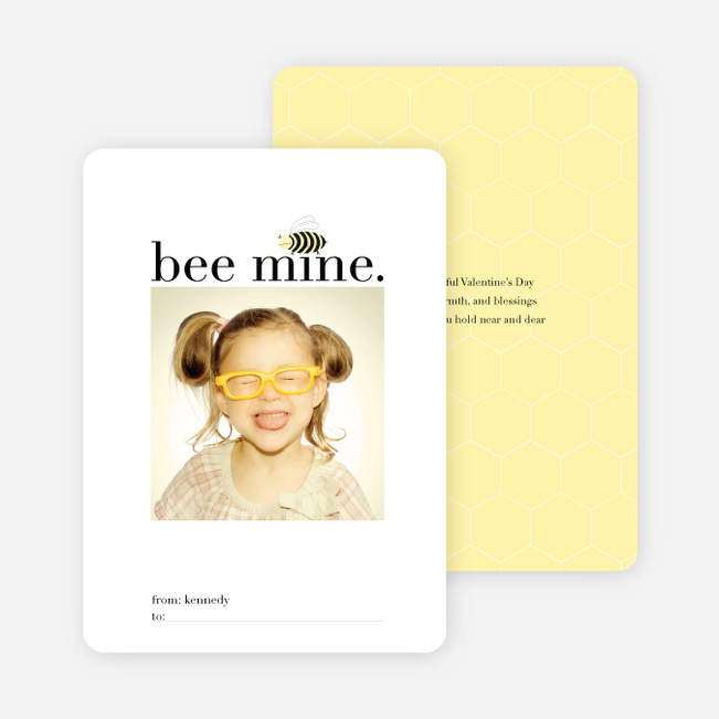 Bee Mine for Valentine's Day - Buttercup