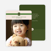 Chinese New Year Banner Photo Cards - Green