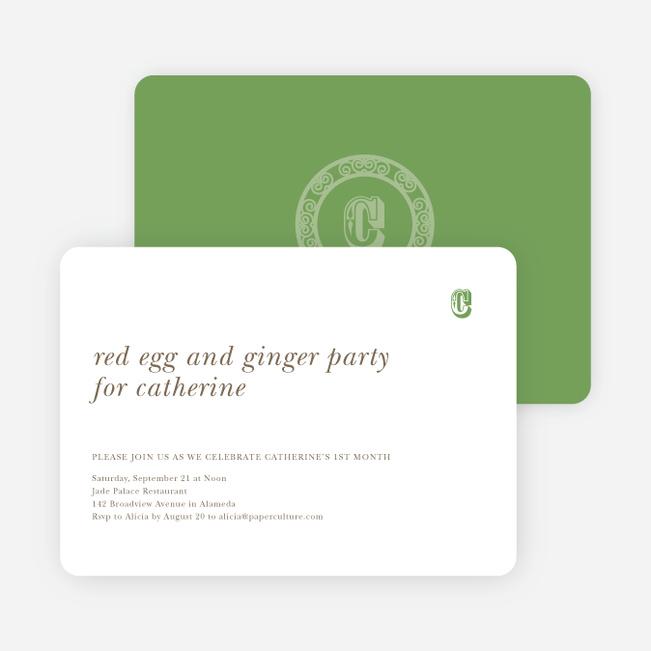 Dragon Woodblock Chop Chinese New Year cards - Green