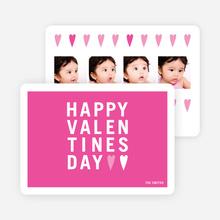 Happy Valentine's Day Photo Card - Rhubarb Pie