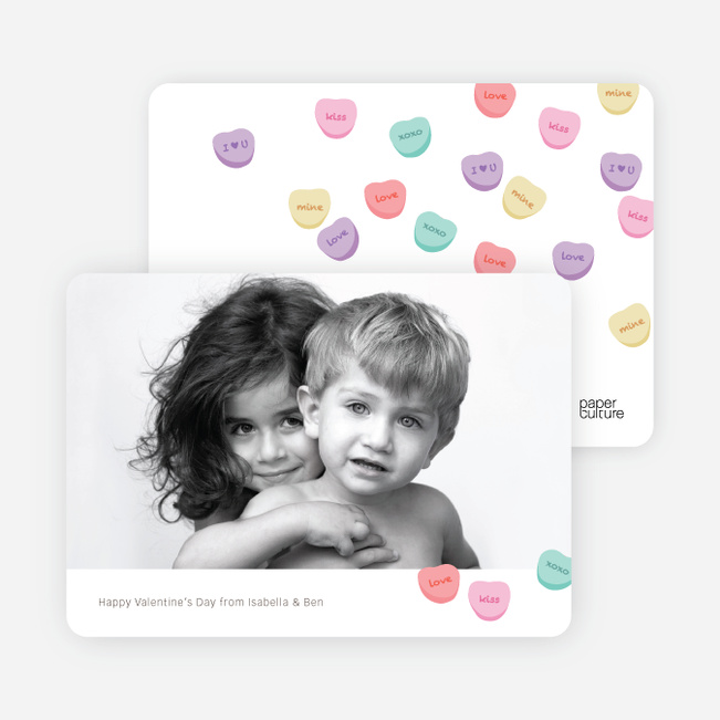 Heart Candy Nostalgia Note Cards - Multi