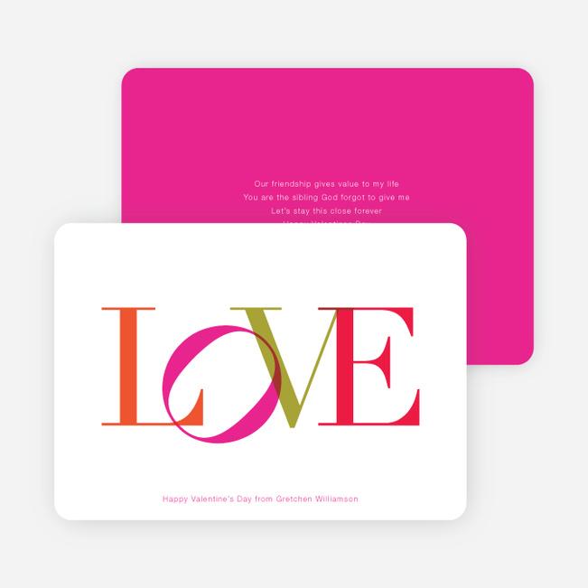 L O V E Note Cards - Multi