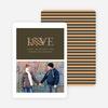 Pet Love Valentine's Day Card - Espresso