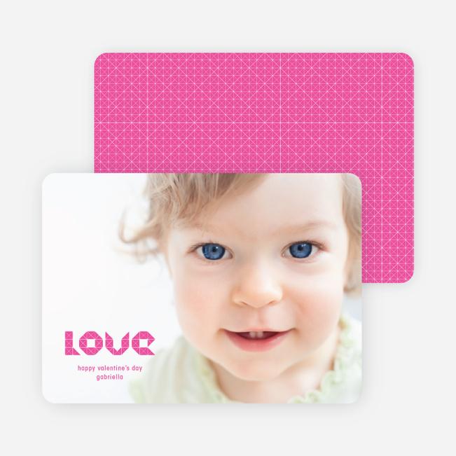 Simply Photos LOVE: Valentines Day Card - Fuchsia