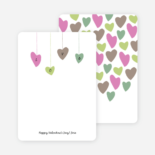 Spread the Love Eco Notecards - Multi