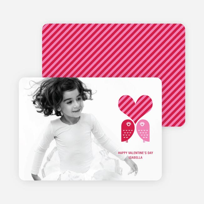 Woo Knows True Love Valentine's Day Cards - Cherry