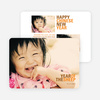 Year of the Horse Chinese New Year Cards - Orange
