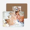 Intertwined: Photo Thank You Cards for Weddings and Other Occasions - Chocolate