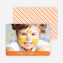 Photo Thank You Cards - Persimmon