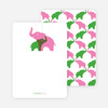 Momma and Baby Elephant Mobile: Thank You Cards - Main View