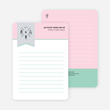 Artistic Tools Personal Stationery - Pink