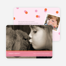 Happy Easter Photo Cards - Light Thulian Pink