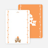 Note Cards: 'Princess Birthday Invitation' cards. - Tang Orange