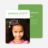 Floating Cap Graduation Announcements for Elementary School - Yellow